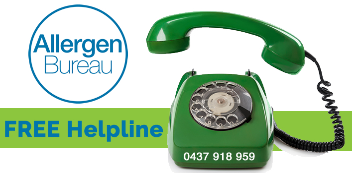 Have you got an allergen management question? Contact the Allergen Bureau FREE helpline NOW!