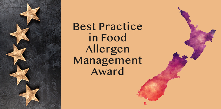 Calling the New Zealand food industry! Nominate NOW for the Allergen Bureau Award in best practice food allergen management