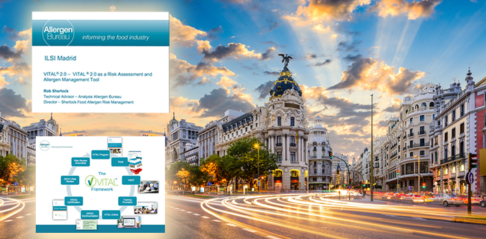 ILSI Europe – Symposium on Frontiers in Food Allergy and Allergen Risk Assessment and Management, Madrid, April 2018
