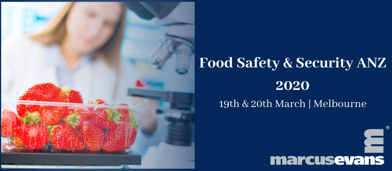 Food Safety and Security 2020 – Safe food is not an option, it's an obligation