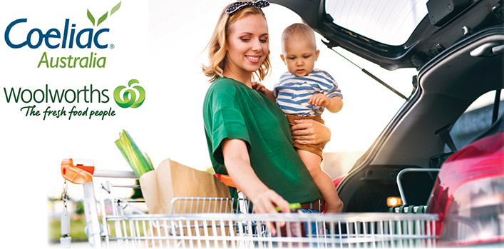 Woolworths becomes Coeliac Australia's Official Supermarket Partner