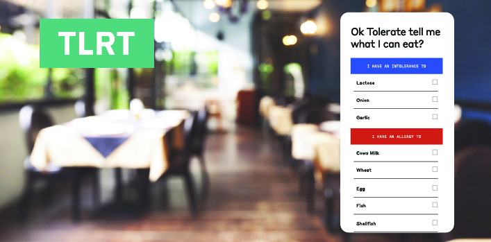 New app to help when eating out with food allergies